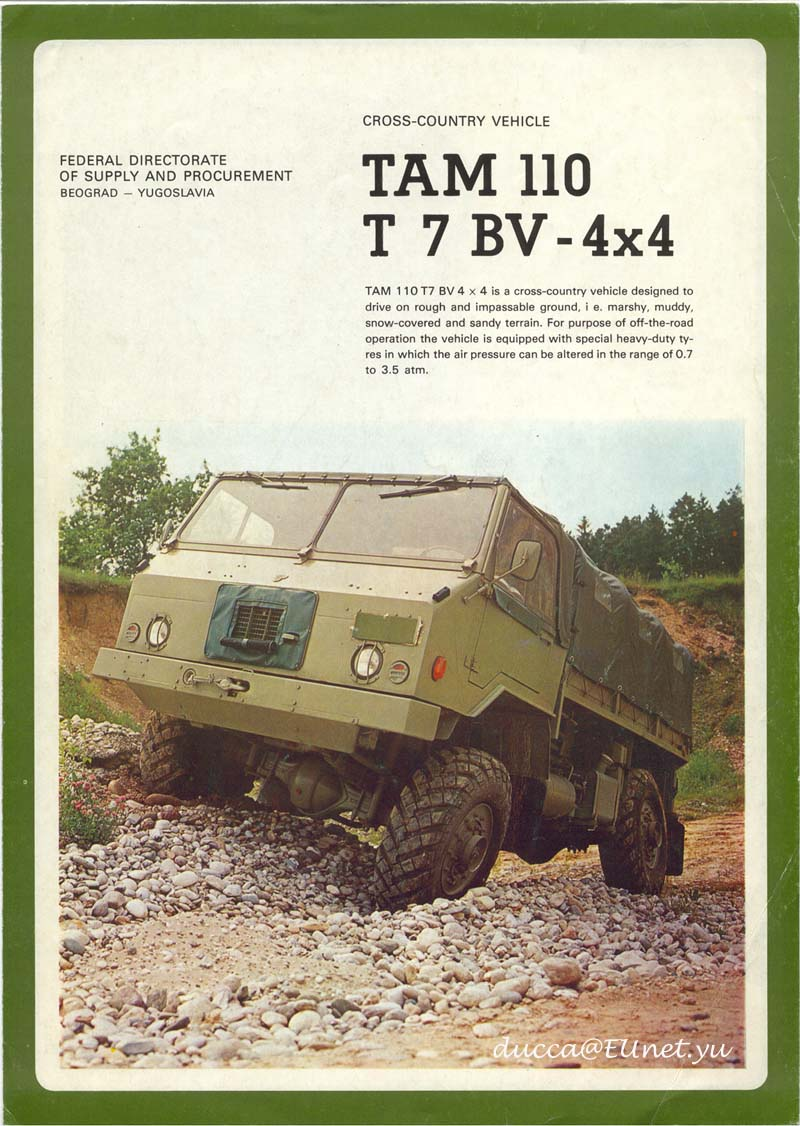 tam-110 t7 bv 4x4