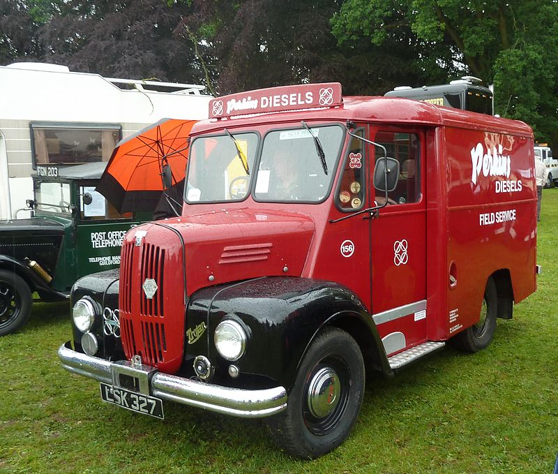 Trojan van, Abergavenny steam rally