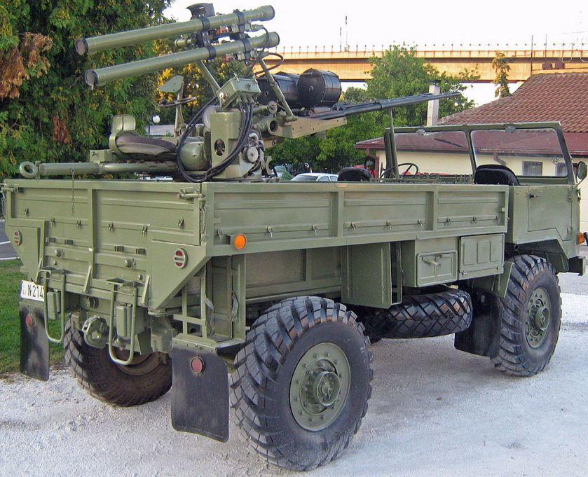 Vojaški tovornjak TAM 110 M55 with SA2