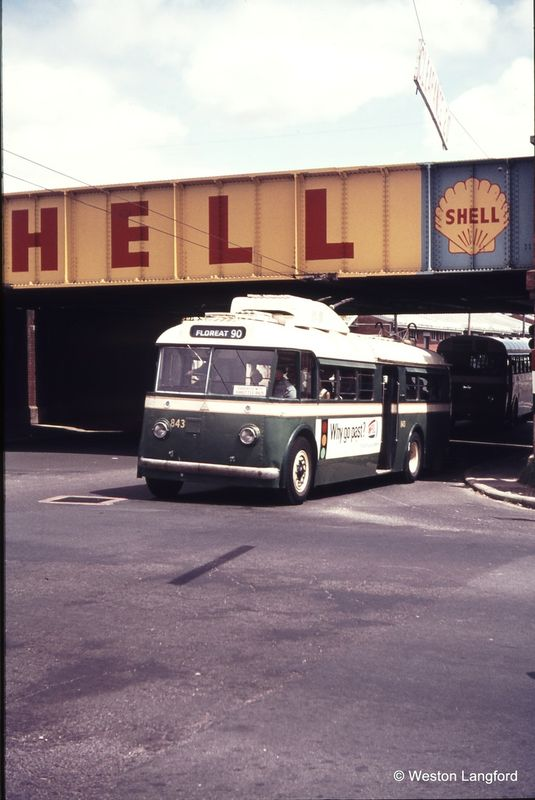 West Perth Subway Down ARHS Special Sunbeam Trolleybus 843