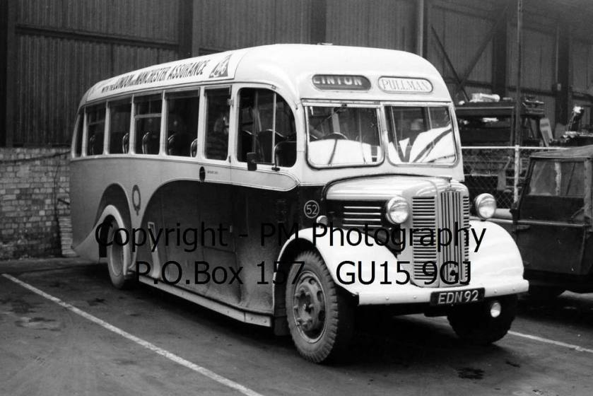York Pullman EDN 92 Austin CXB - Barnaby
