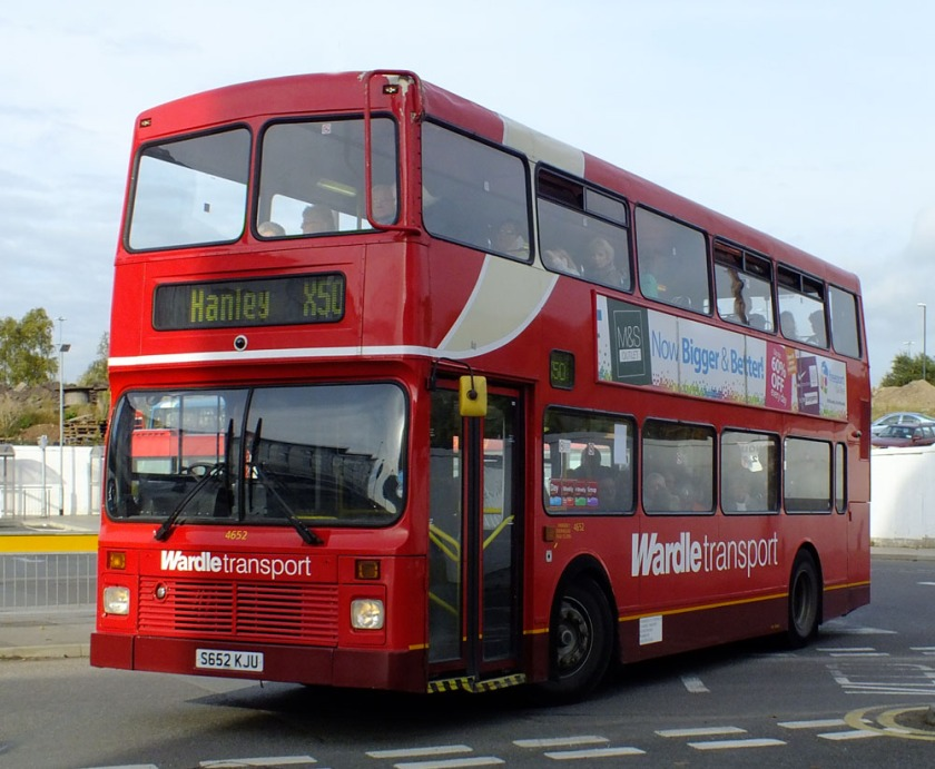 008 Wardle Transport Northern Counties Palatine bodied Volvo Olympian in October 2012