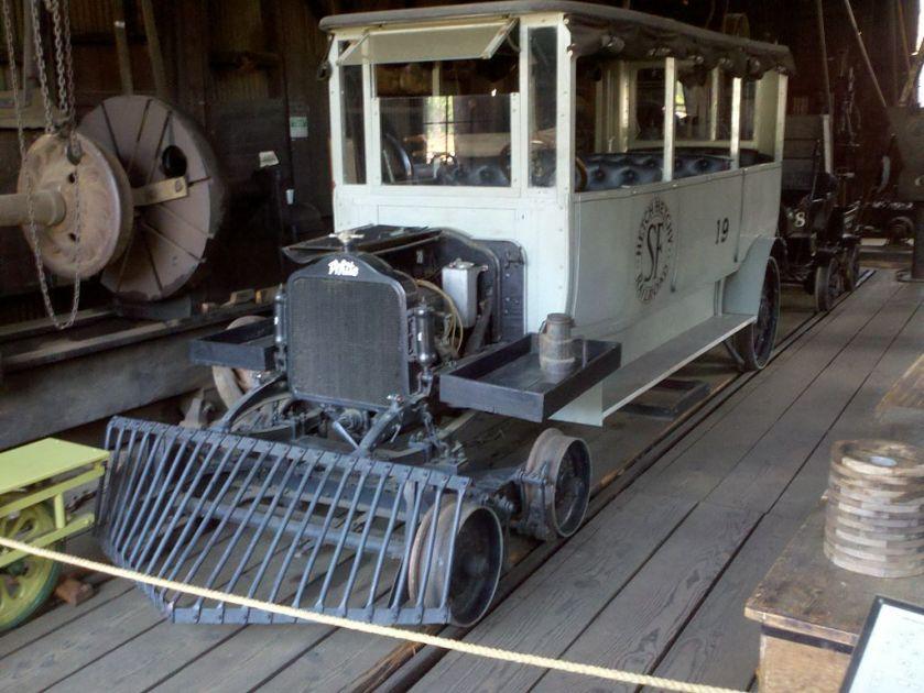 1897 White railcar