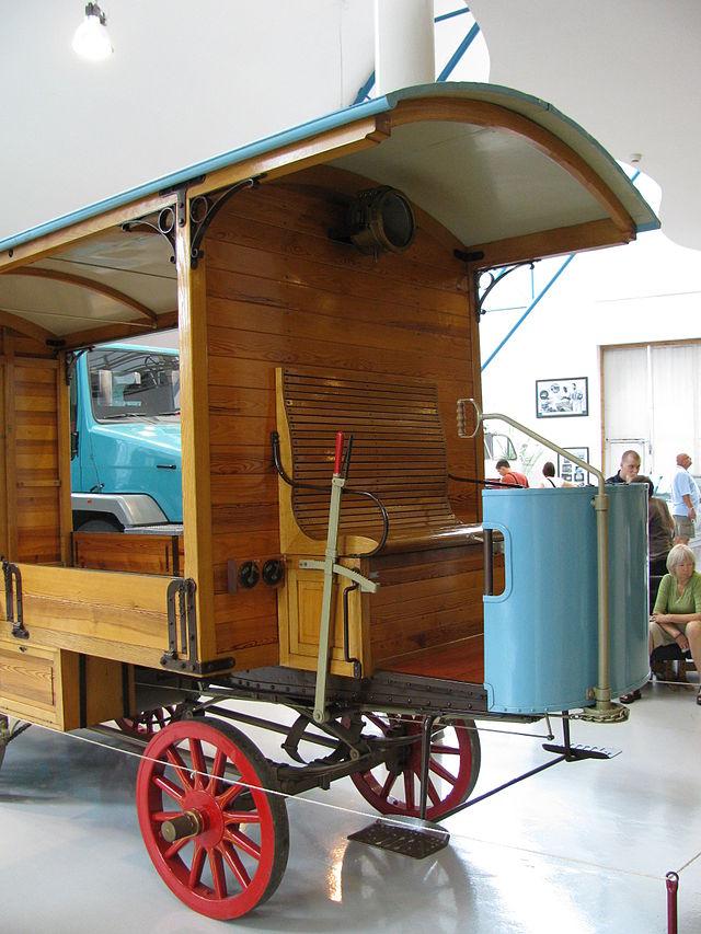1898 Tatra NW 1st lorry2