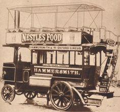 1902 Steam-Powered Thornycroft Bus
