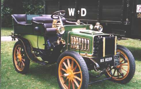 1904 Thornycroft 4 seater bs8239
