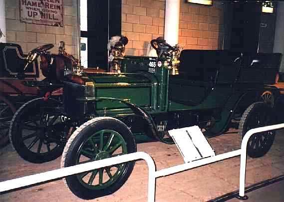 1904 Thornycroft 4 seater gaydoncar