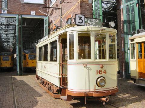 1907 Haagse trammotorwagen 164