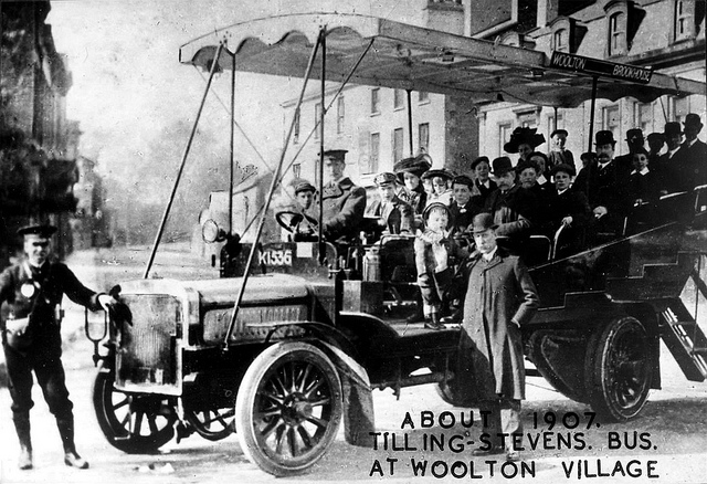 1907 Tilling Stevens Bus K1536
