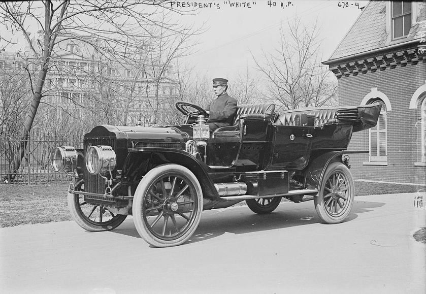 1909 The Presidents White 40 Hp TaftMotorCar1909