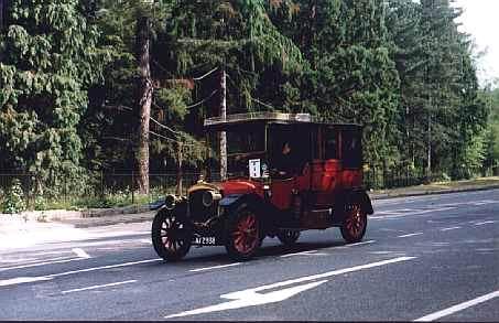 1910 Thornycroft landaulette caronrun