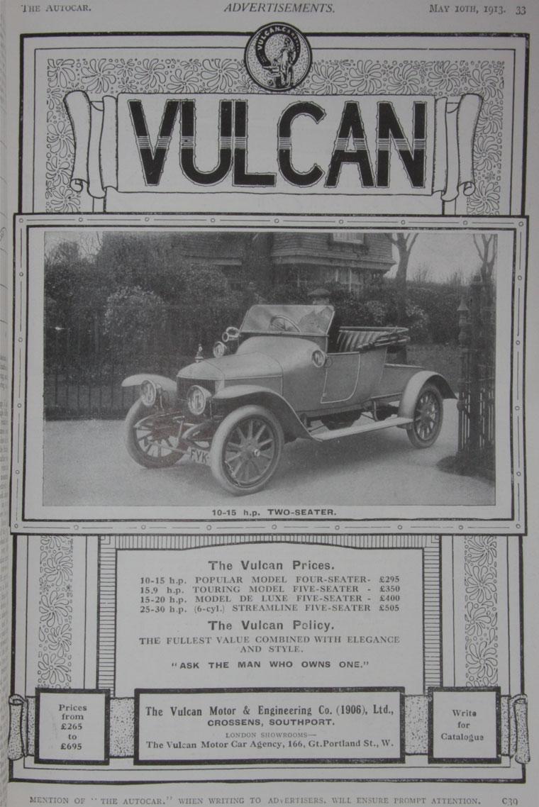 1913 Autocar-Vulcan