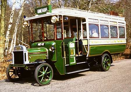 1913 Leyland S3.30.T Brush B27F body a