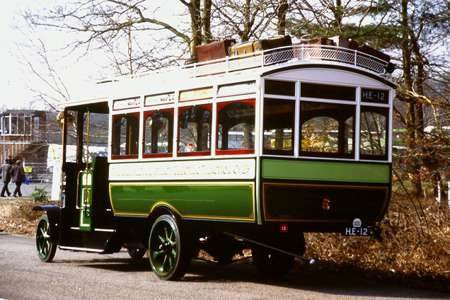 1913 Leyland S3.30.T Brush B27F body b