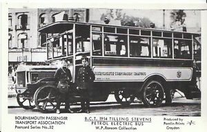 1914 Tilling Stevens Petrol Electric Bus