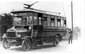 1914 tilling-stevens petrol-electric