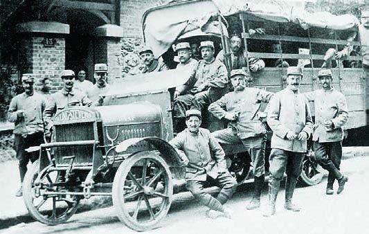 1914 Tilling-Stevens TS3