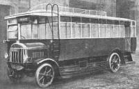 1918 (DA 1551) Tilling-Stevens TS3 Fleming B30R in service 1918-1929 Wolverhampton