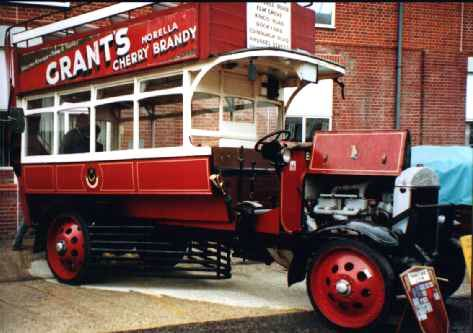 1919 THORNYCROFT BUS - BEAMISH TRAMWAYS Dodson Carr.