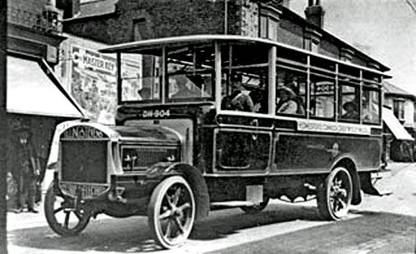 1921 Tilling Stevens 2 Bus DH904 Bloxwich