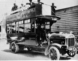 1922 Tilling Stevens 3A 40 HP Capaciteit 48 Barcelona