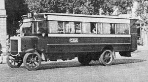 1922 Tilling Stevens 4x 40 HP Barcelona