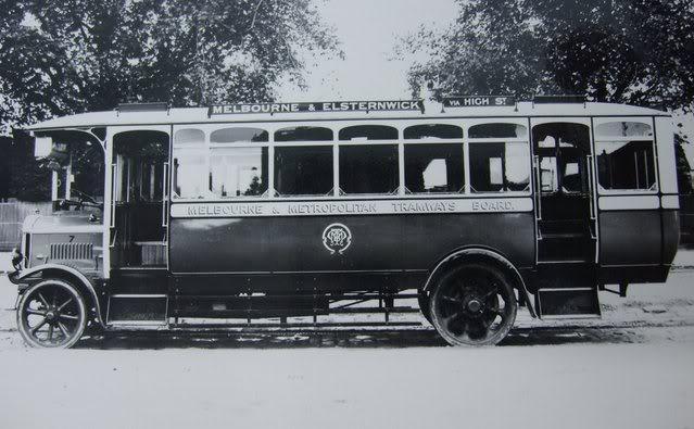 1922 Tilling Stevens Buses Australia a