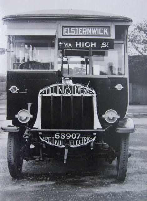 1922 Tilling Stevens Buses Australia