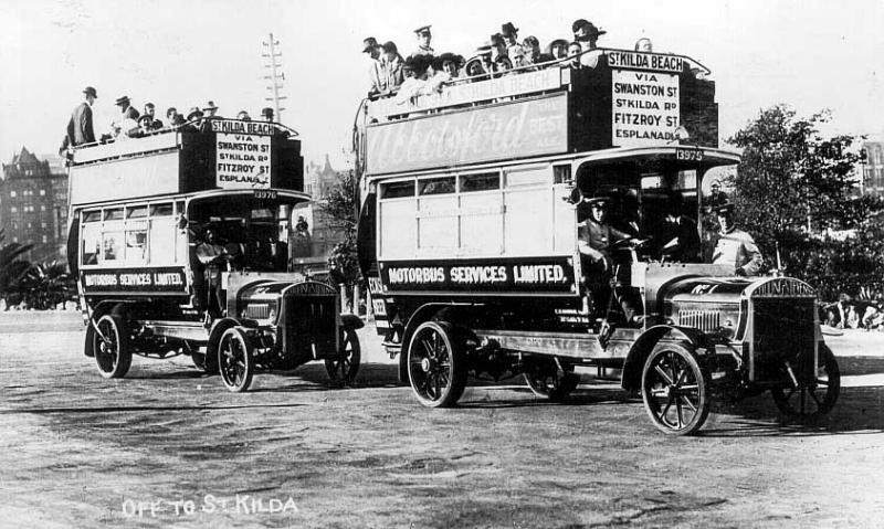 1922 Tilling-Stevens Buses