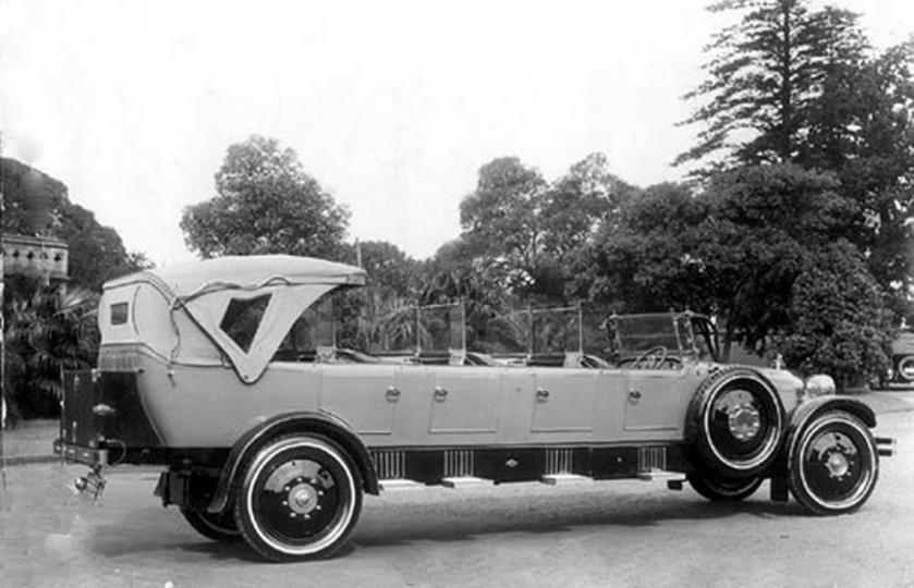 1922 White Charabanc Tourer