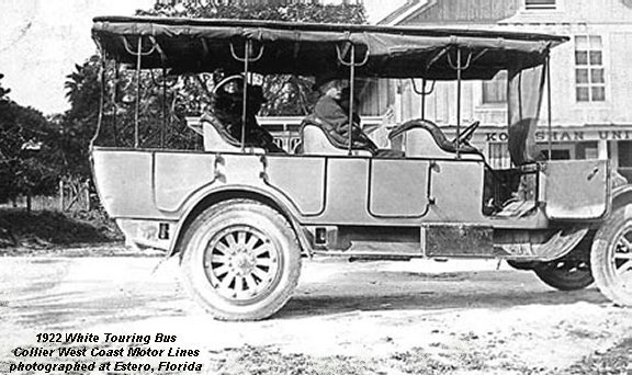1922 White Touring Bus