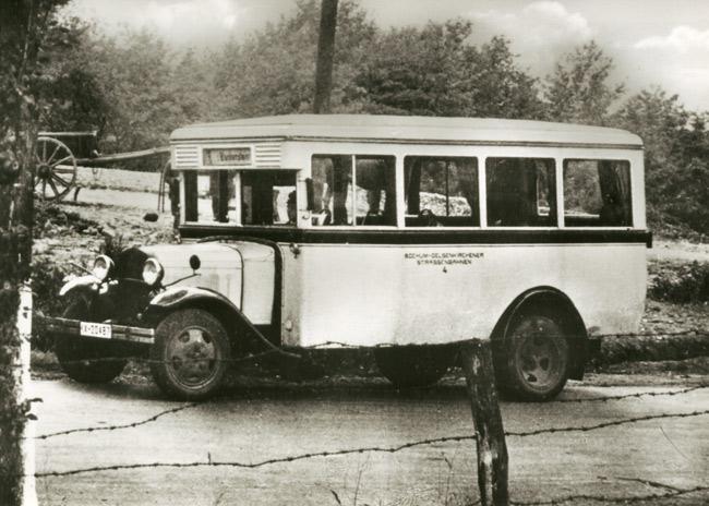 1923 Vomag Kraftomnibus