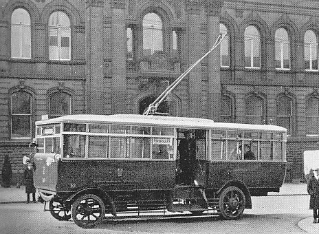 1924 Tilling-Stevens single-decker bus12 Wolverhampton