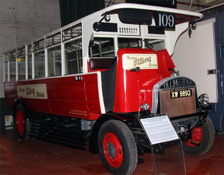 1925 Tilling Stevens TS7 Petrol-electric 40 hp