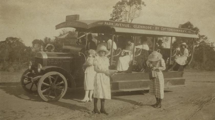 1925 Vulcan Thomas W Bean Bus Company Rockhampton Queensland  1925 Australia