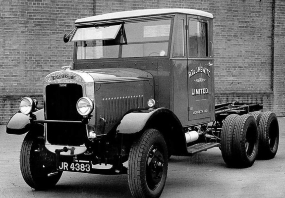 1926-30 Thornycroft Tartar A3 6x4