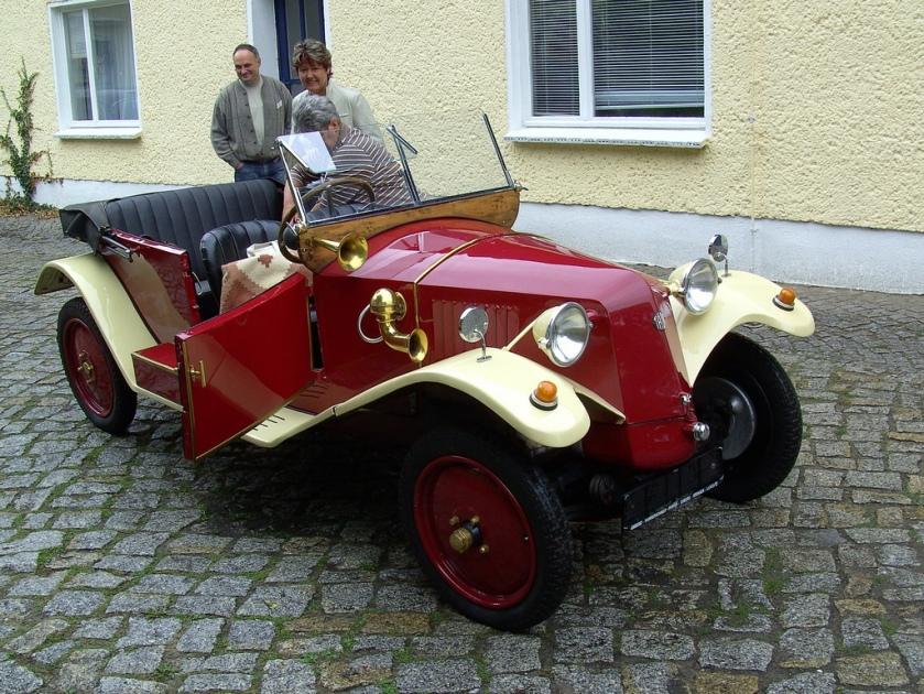 1926 Tatra T12 convertible