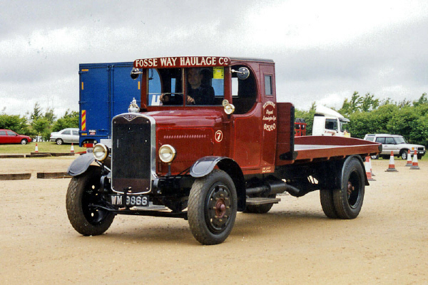 1926 Vulcan 2T flatbed