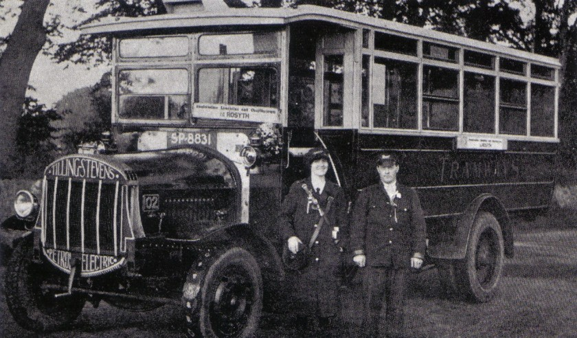 1927 DDT - TILLING-STEVENS - SP8831 - No.102 - AT CHARLESTOWN 1927 WITH DRIVER J. McGOWAN