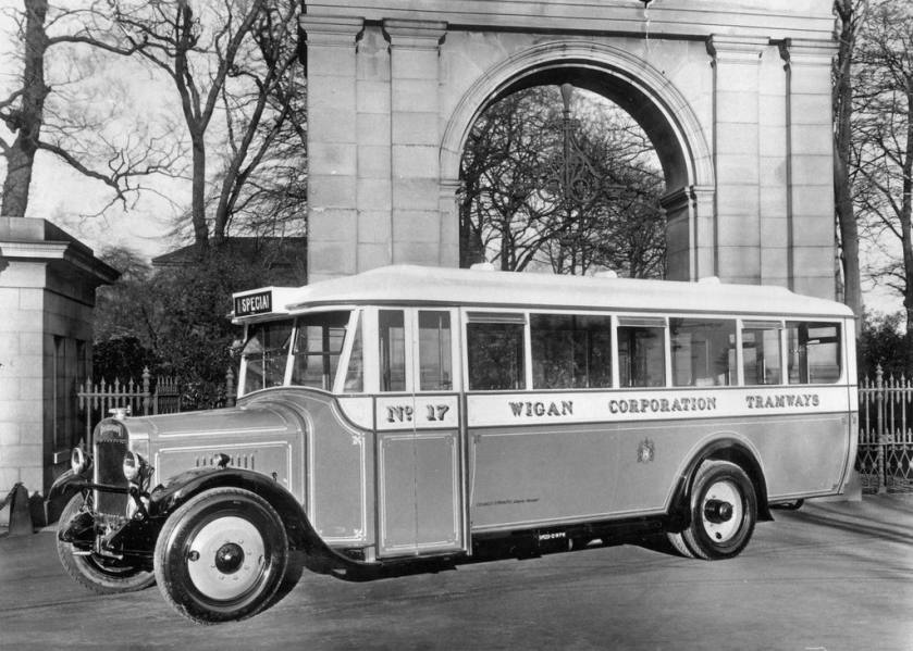 1927 Thornycroft 29 seater buses with bodywork by NCME