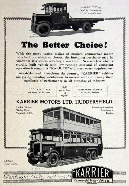 1928 Karrier brush ad