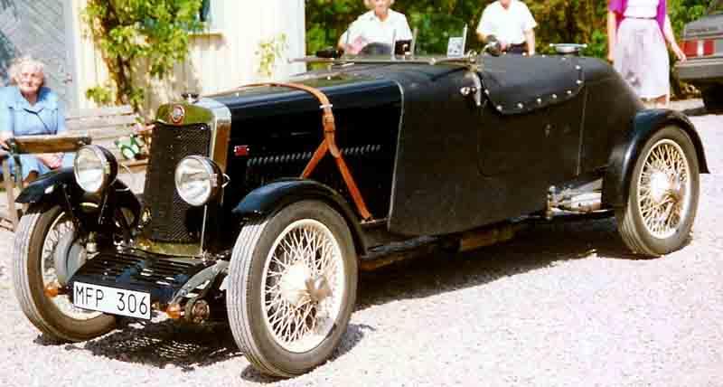1928 Lea-Francis Motor Hyper Sport SS Car by Vulcan