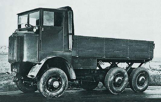 1928 Tatra-25, 6x6