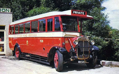 1928 Thornycroft bus Isle of Man