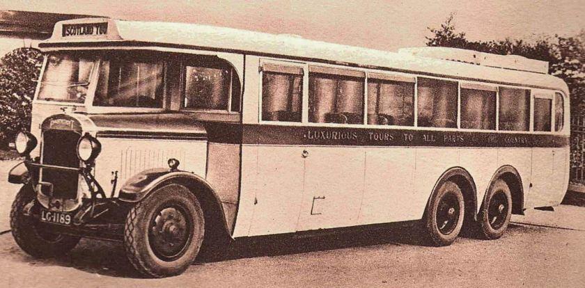 1928 Thornycroft Coach LG 1189