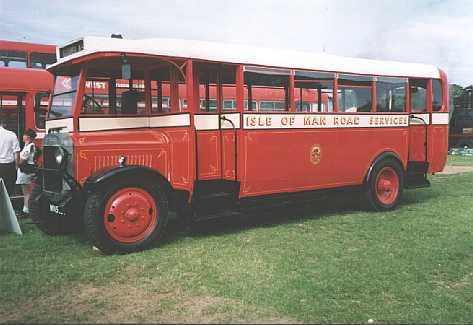 1928 Thornycroft  Hall &Lewis B28R single deck bus iombus