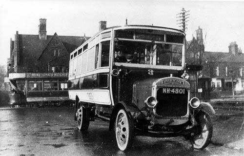 1928 Thornycroft oldbus atcockhotel