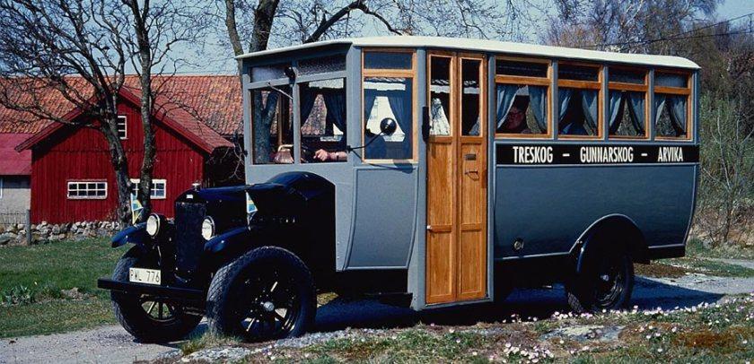 1928 Volvo LV45 autobus a