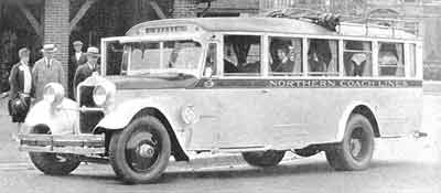 1928 White Bender Bus
