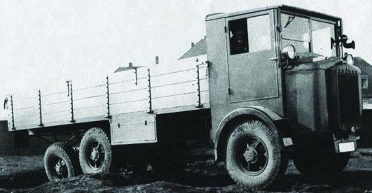 1929 Tatra-24-65, 6x6